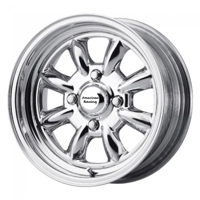 Roue American Racing VN401 SILVERSTONE, argent polie