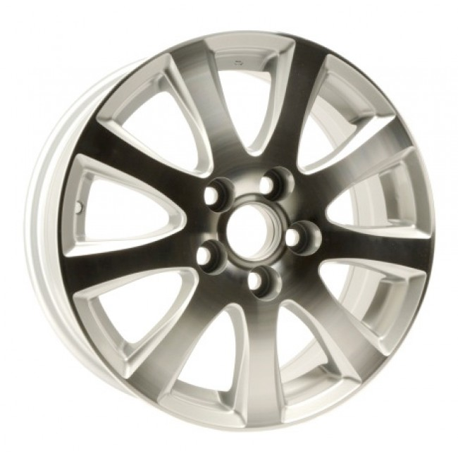 PMC OEM Replica Machined Silver / Argent Machine, 16X6.5, 5x100 ,(déport/offset 20 ) 54.1 Lexus / Scion / Toyota