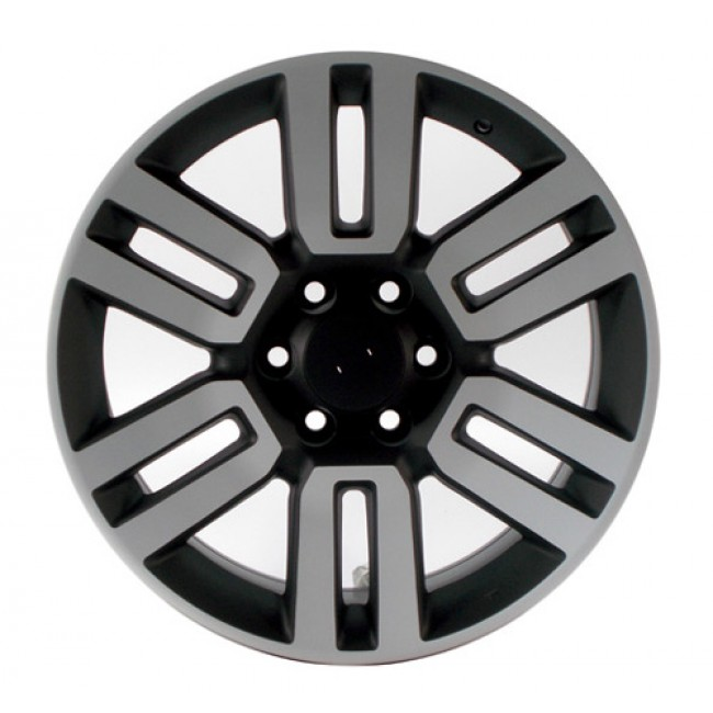 PMC OEM Replica Machined Black / Noir Machine, 20X8, 6x139.7 ,(déport/offset 45 ) 106 Lexus / Toyota