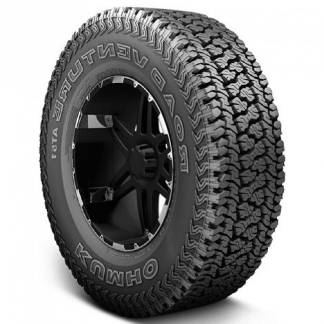 Kumho Tires - Road Venture AT51 - 235/75R15 C 101R BSW