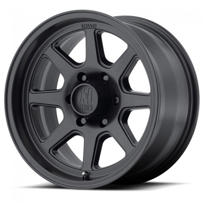 Roue XD Series by KMC Wheels XD301 TURBINE, noir satine