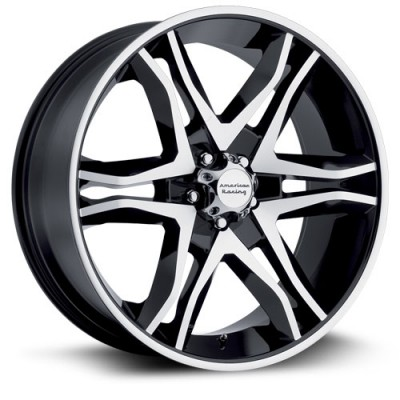 roue RTX Wheels Ar893, noir machine (17X8, 5x139.7, 108, déport 25)