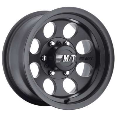 Roue Mickey Thompson Classic III Black, noir satine (16X8, 8x165.1, 130.1, déport -12)