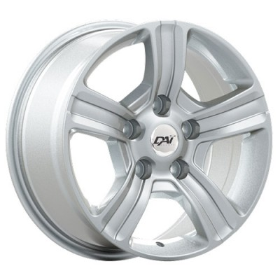 Dai Alloys Force, Argent/Silver, 17X8.0, 6x139.7 (offset/deport 31), 78.1