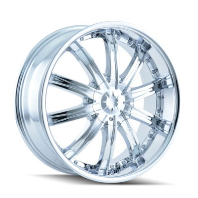 Roue Dip ICE, chrome (22X8, 5x112/115, 72.62, déport 35)