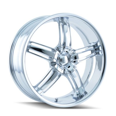 Roue Dip AMBUSH, chrome (20X8.5, 5x112/120, 72.62, déport 40)