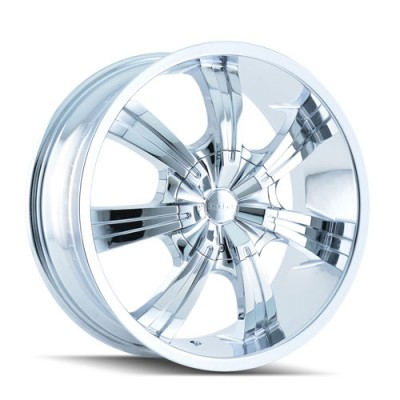 Roue Dip GUNNER, chrome (20X8.5, 6x135/139.7, 87.1, déport 30)