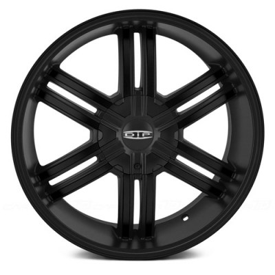Roue Dip D98 Hack, noir machine (20X8.5, 6x127, 78.3, déport 35)