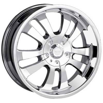 Roue Dip D10, chrome (18X8.5, 5x127/135, 87.1, déport 18)