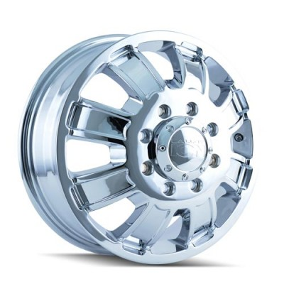 Roue Alloy Ion 166, chrome (17X6.5, 8x165.1, 130.18, déport 134)