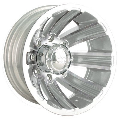 Roue Alloy Ion 166, chrome (16X6, 8x170, 130.18, déport -125)