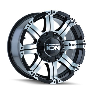 Roue Alloy Ion 187, noir machine (17X9, 6x139.7, 108.1, déport 18)
