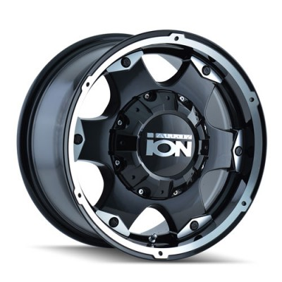 Roue Alloy Ion 194, noir machine (16X8, 5x139.7, 108.1, déport 10)