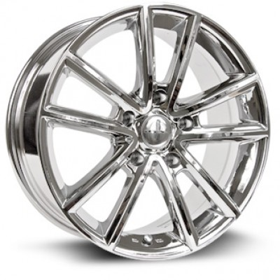 Roue RTX Wheels Auburn, chrome plaque (17X7.5, 5x127, 71.5, déport 35)