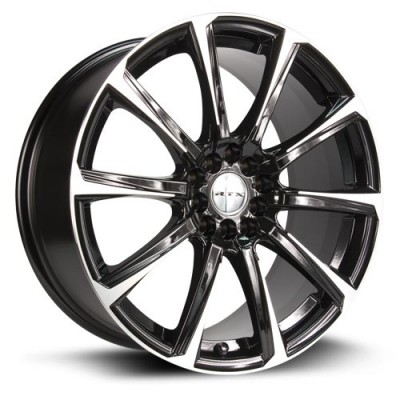 Roue RTX Wheels Blade, noir machine (16X7, 5x105/114.3, 73.1, déport 42)