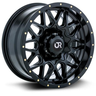 roue RTX Wheels Canyon, noir satine (20X9, 5x139.7, 78.1, déport 10)