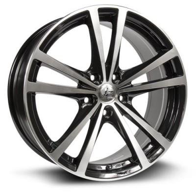 Roue RTX Wheels Force, noir machine (15X6.5, 4x100, 73.1, déport 42)