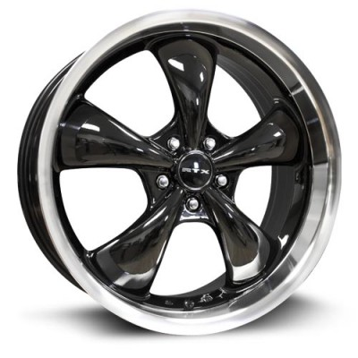 roue RTX Wheels Gt, noir machine (20X8.5, 5x114.3, 73.1, déport 35)