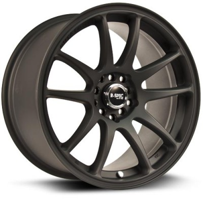 Roue RTX Wheels Stag, noir machine (18X8.5, 5x100/114.3, 73.1, déport 35)