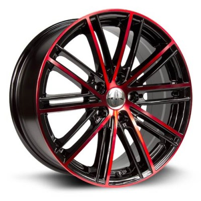 Roue RTX Wheels Strobe 5, noir machine (17X7.5, 5x114.3, 73.1, déport 45)
