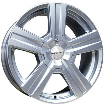 Roue RTX Wheels Torrent, argent (18X8, 6x120/139.7, 78.1, déport 35)
