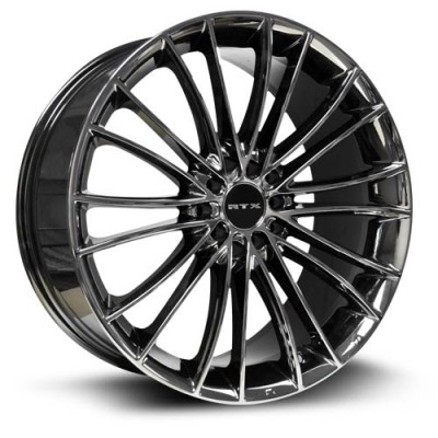 RTX Wheels Turbine, Chrome Noir/Chrome Black, 18X8, 5x100/114.3 ( offset/deport 45), 73.1