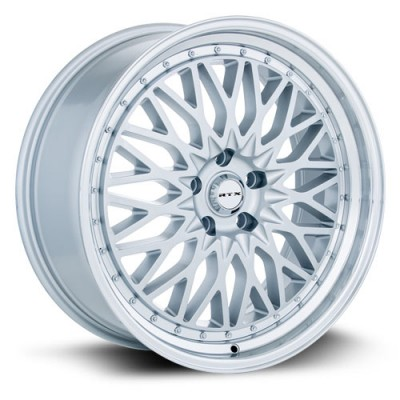 RTX Wheels Circuit, Argent Machiné /Machined Silver, 17X7.5, 5x112 ( offset/deport 40), 66.6