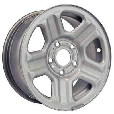 Roue Macpek Steel Wheels, gris (16X7, 5x127, 71.5, déport 45)
