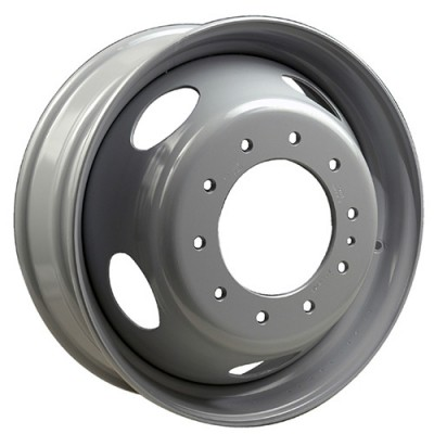 Roue Macpek Steel Wheels, gris (19.5X6.75, 10x225, 170, déport 140)