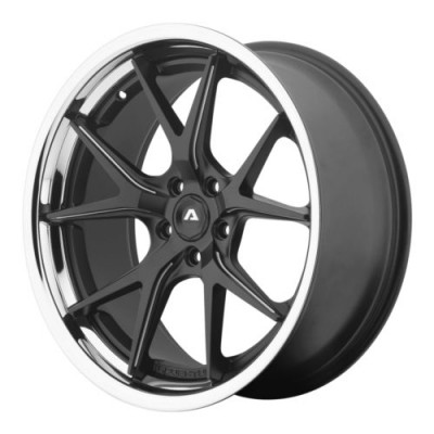 roue Adventus AVS-3, noir mat machine (20X10.5, 5x114.3, 74.1, déport 45)