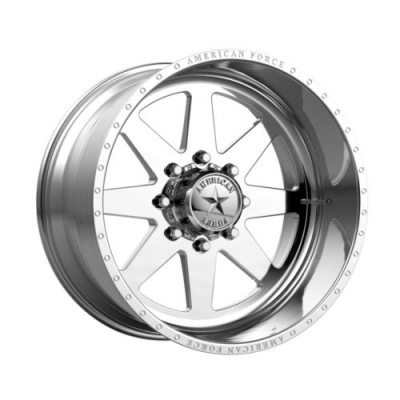 Roue American Force INDEPENDENCE SS, argent polie (24X14, 8x165.1, 122, déport -73)
