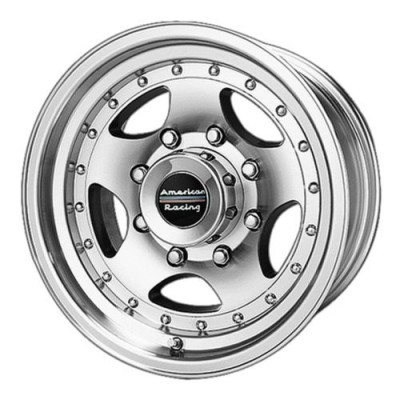 Roue American Racing AR23, noir machine (16X8, 8x170, 130.81, déport 0)
