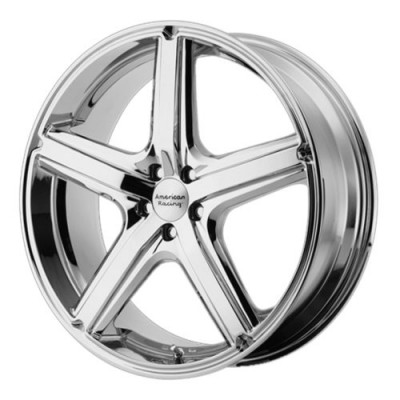 Roue American Racing AR883 MAVERICK, chrome (17X7.5, 5x120.65, 72.60, déport 40)