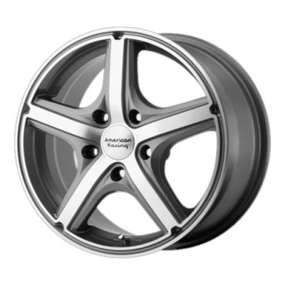 Roue American Racing AR883 MAVERICK, gris fonce machine (16X7, 5x110, 72.60, déport 40)
