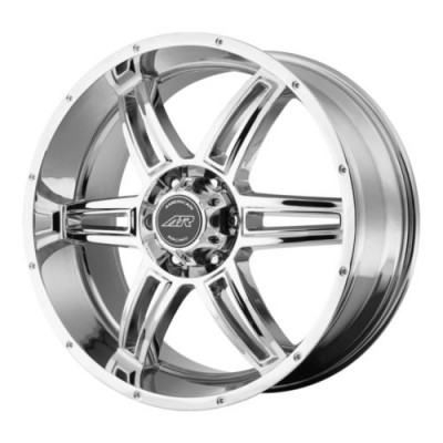roue American Racing AR890, chrome plaque (16X8, 5x127, 78.3, déport 30)