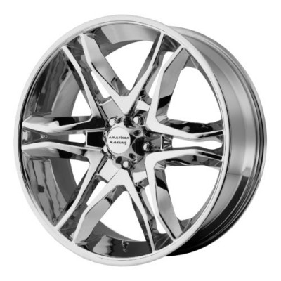 Roue American Racing AR893 MAINLINE, chrome (20X8.5, 5x127, 78.30, déport 35)
