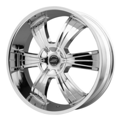 roue American Racing AR894, chrome plaque (22X9, 5x114.3/127, 72.6, déport 35)