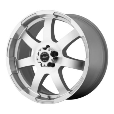 roue American Racing AR899, argent machine (22X9.5, 5x120, 74.1, déport 35)