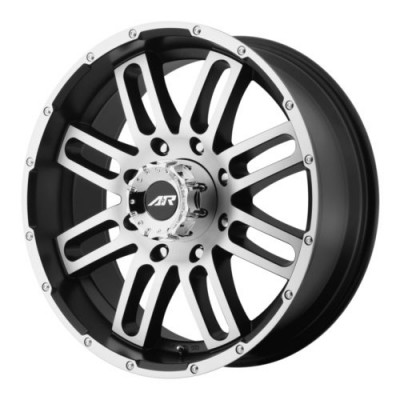 Roue American Racing AR901, noir machine (20X9, 6x139.7, 108.00, déport 20)