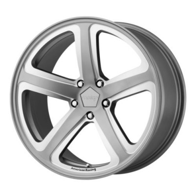 Roue American Racing AR922 HOT LAP, gris machine (20X10, 5x114.3, 72.60, déport 40)