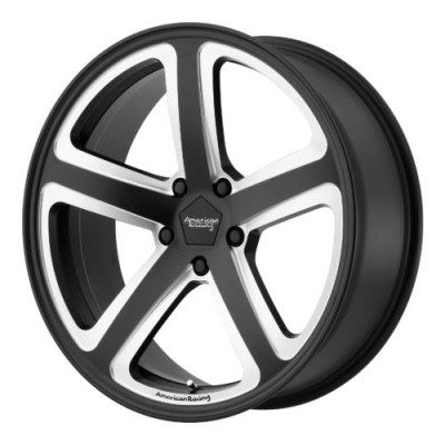 Roue American Racing AR922 HOT LAP, noir machine (20X10, 5x114.3, 72.60, déport 40)