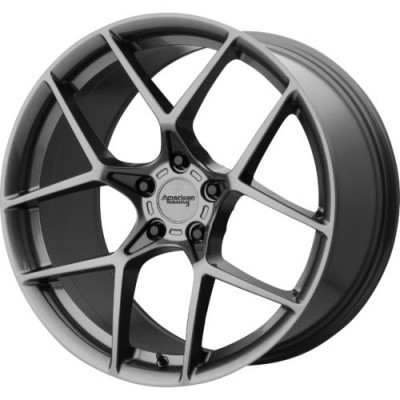 Roue American Racing AR924 CROSS FIRE, gris (19X10, 5x120.65, 70.30, déport 75)