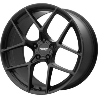 Roue American Racing AR924 CROSS FIRE, noir satine (19X10, 5x120.65, 70.30, déport 75)