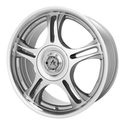 roue American Racing AR95T, argent machine (17X7.5, 5x130, 84.1, déport 25)