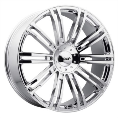 Roue American Racing D2, chrome (20.00X8.50, 6x135.00/139.70, 100.5, déport 35)