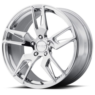 Roue American Racing Forged VF100 SCALPEL, argent polie (19X9.5, 5x120.65, 72.60, déport 56)