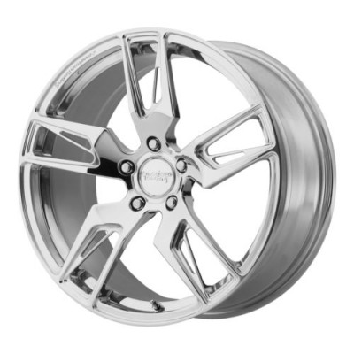 Roue American Racing VF100 SCALPEL, argent polie (20X10.5, 5x120.65, 72.6, déport 65)