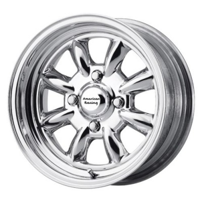 Roue American Racing VN401 SILVERSTONE, argent polie (15X14, , 72.60, déport 0)
