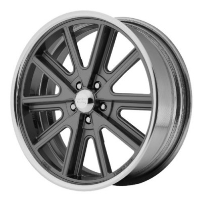 Roue American Racing VN407, gris gunmetal machine (18X9, , 76.50, déport 0)