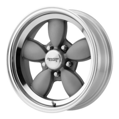 Roue American Racing VN504, gris machine (17X7, 5x120.65, 72.60, déport 0)